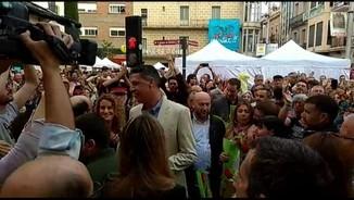 Escridassada a Xavier García Albiol a Badalona