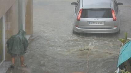Vídeo d'Isabelprims enviat al 3cat24 de la tempesta d'Arenys de Mar