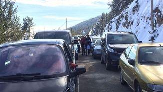 Restriccions als vehicles privats per accedir al Montseny