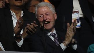 Bill Clinton centra aquesta matinada totes les mirades (Reuters)