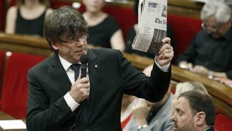 Puigdemont new york times