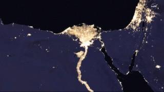 Contaminació lumínica NASA