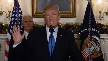 El dia que Trump va reconèixer Jerusalem com a capital d'Israel