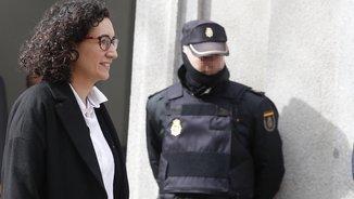 Marta Rovira a les portes del Tribunal Suprem (EFE)