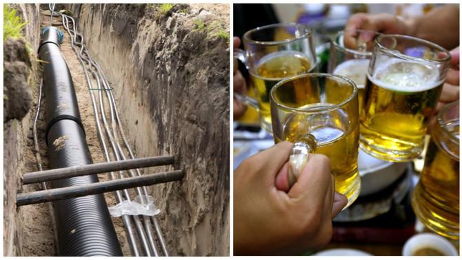 """Un festival de heavy metal fa un """"birraducte"""" de 7 km per a 400.000 litres de cervesa"""