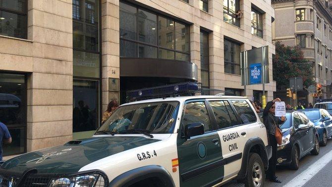 La llista d'alts càrrecs i treballadors de la Generalitat detinguts