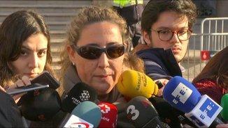 Gemma Montull després de conèixer la sentència del cas Palau