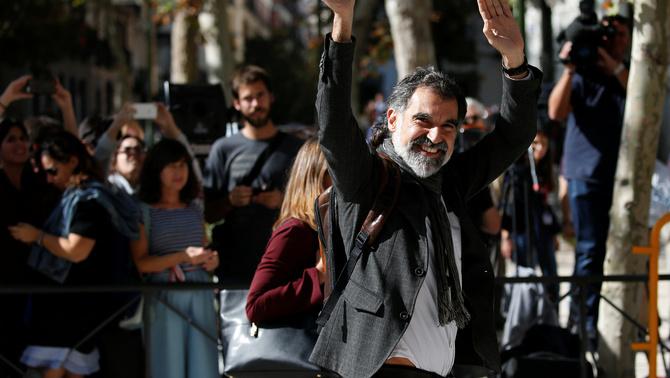 """Cuixart al Suprem: """"No és possible un referèndum que no sigui convocat per Espanya"""""""