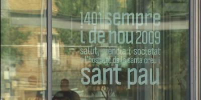 El jutge imputa sis directius de l'hospital Sant Pau per presumpta malversació de fons