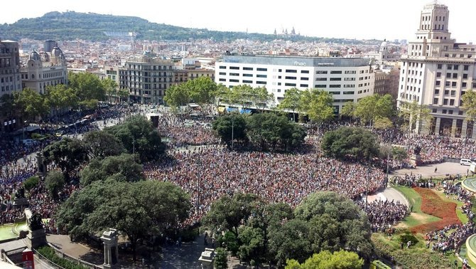 Barcelona sembla una altra si tu ets al meu costat