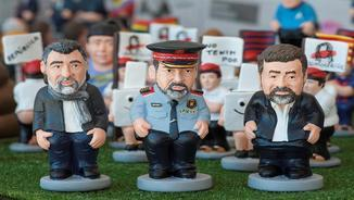 Caganers amb accent polític