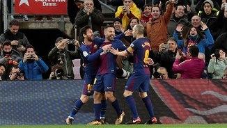 Una victòria més i un partit menys a la Lliga. Els gols del Barça - Llevant