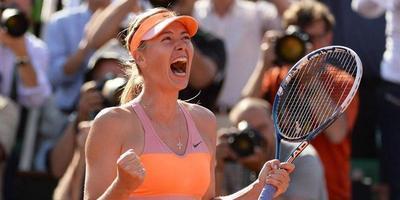 Xaràpova es corona reina de la terra batuda en guanyar a París la romanesa Simona Halep (6-4, 7-6(5) i 6-4)