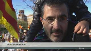 Acte de l'ANC al Parc de la Ciutadella per reclamar unitat