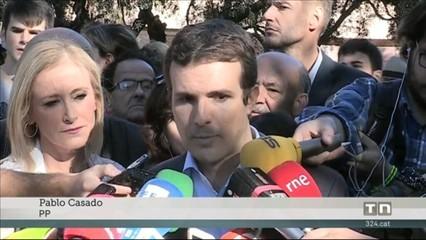 """Casado: """"Puigdemont, el seu govern i Forcadell ja són el passat"""""""