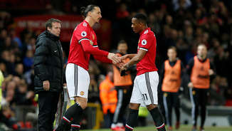 Ibrahimovic ha substituït Martial (Reuters)
