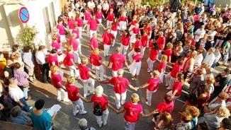 Olesa de Montserrat estrena la Mulassa amb motiu de les festes de Santa Oliva