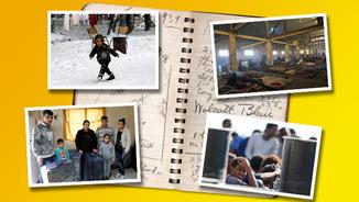 Persones refugiades: Belgrad, Lesbos, Sicília i Beirut