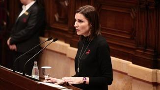 """Lorena Roldán (Cs): """"L'1-O creiem que no hi haurà cap tipus de referèndum"""""""