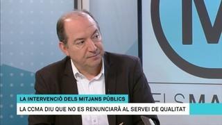 Vicent Sanchis i Saül Gordillo valoren els efectes de l'aplicació del 155 en els mitjans públics catalans