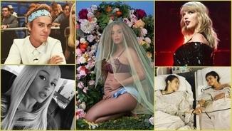 Beyoncé, Ariana Grande, Selena Gómez, Taylor Swift i Justin Bieber són els cinc cantants més populars d'Instagram