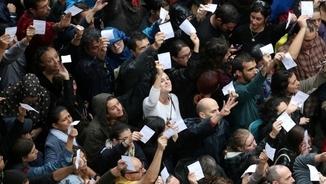 València i Galícia, multes i anys de presó per manifestar-se a favor del referèndum