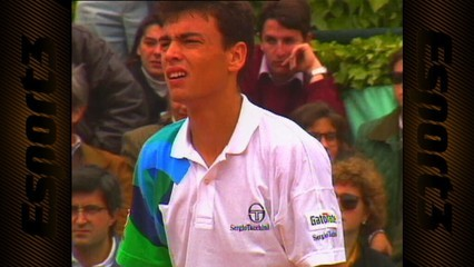 Tenis: Final Godó 1991 E.Sánchez Vicario-S.Bruguera
