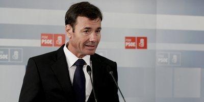 El secretari general del PSM, Tomás Gómez, ha valorat aquest dilluns l'adéu d'Aguirre. (Foto: EFE)