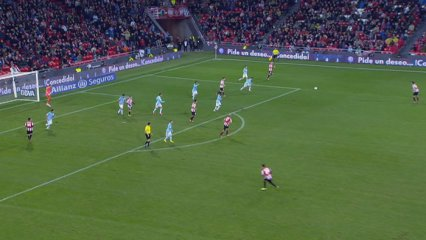 Resum Athletic-Celta (4-0)