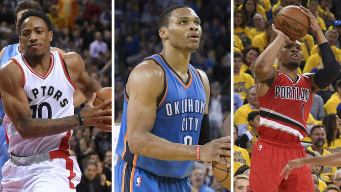 DeRozan, Westbrook i Lillard lideren la classificació d'anotadors de l'NBA (Reuters)