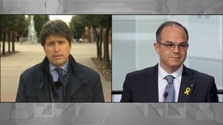 Jordi Turull, de Junts per Catalunya, respon al president de Societat Civil Catalana