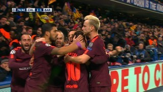 Messi marca, per fi, a Stamford Bridge (1-1)