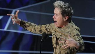 """Els Oscars: Frances McDormand, millor actriu per """"Tres anuncios en las afueras"""""""
