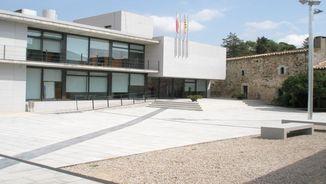 Façana de l'Ajuntament de Caldes Malavella