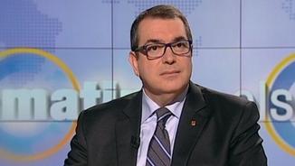 """El conseller d'Interior, Jordi Jané, a """"Els matins"""" de TV3"""