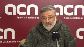 """Carles Riera: """"Si hi ha 'pressing CUP' per ajornar la república, nosaltres no hi serem"""""""