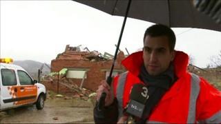 Les destrosses de la tempesta a Cardona