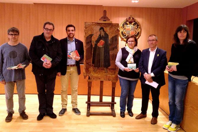 Tàrrega incorpora al seu fons museístic un retaule del pintor gòtic Ramon de Mur, cedit pel Departament de Cultura