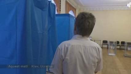 Ucraïna vota demà dividida