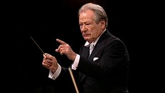 Conversa amb el director d'orquestra sir Neville Marriner