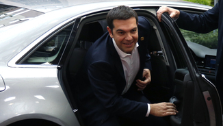 Alexis Tsipras arribant a Brussel·les (Reuters)