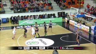 Resum del Bourges - Uni Girona (68-47)