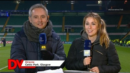 El Barça juga avui al camp del Celtic de Glasgow