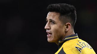 Alexis Sánchez amb la samarreta de l'Arsenal (Reuters)