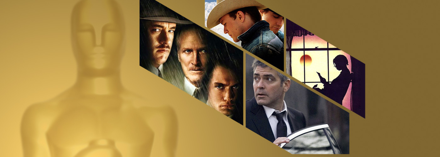 """Brokeback mountain"", ""Camí de perdició"", ""Michael Clayton"" i ""El color púrpura"""