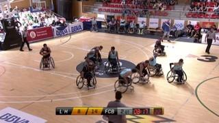 Bàsquet en cadira de rodes: BCR CEM L'Hospìtalet-UNES FC Barcelona
