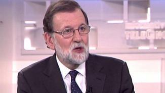 """Rajoy a Puigdemont: """"Un bon governant no s'espanta perquè al carrer li diguin traïdor"""""""