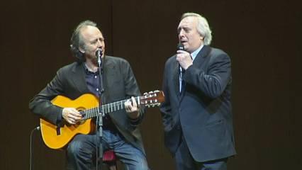 """Serrat i Aragall canten """"Paraules d'amor"""" per recaptar fons per al Tercer Món"""