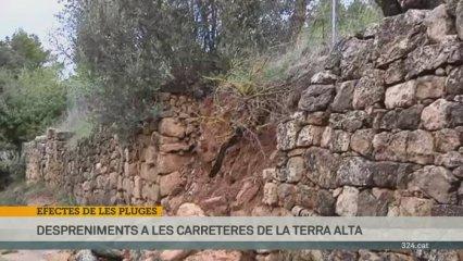 Afectacions pluges a la zona de Tarragona