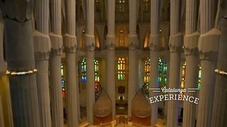 La Sagrada Família, el Catllaràs i Santa Maria de Queralt, a vista de dron